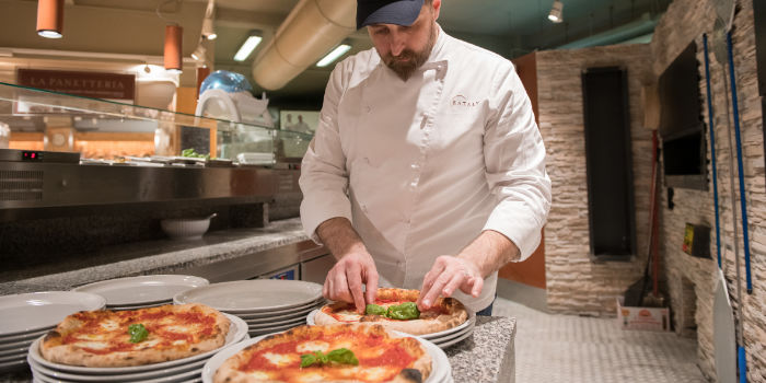 Francesco Pompilio, Pizzaiolo Corporate Eataly