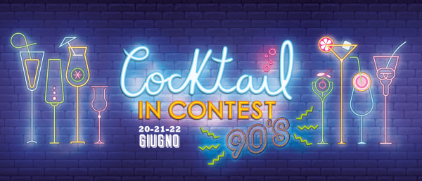Cocktail in contest tema anni '90